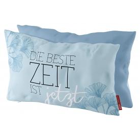 La Vida Kissen Beste Zeit 25x40cm