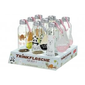 La Vida Trinkflasche Paket Happy Zoo 3x3 Stück