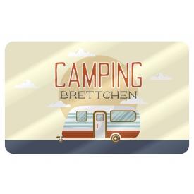La Vida Brettchen Camping 23,5x14,5cm