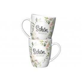 La Vida Kaffeebecher Schön, dass es dich gibt 250ml