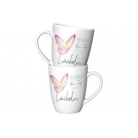 La Vida Kaffeebecher Beginne den Tag mit einem Lächeln 250ml