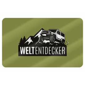 La Vida Brettchen Weltentdecker 23,5x14,5cm