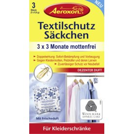 Aeroxon Textilschutz Säckchen