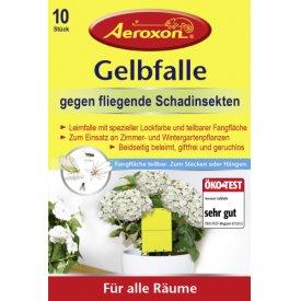 Aeroxon Gelbfalle für Topfpflanzen