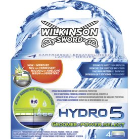 Wilkinson Sword Hydro 5 Groomer und Power Select Klingen