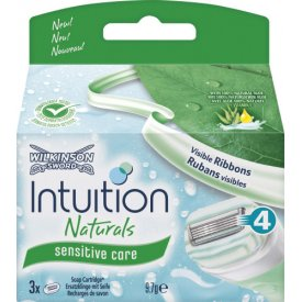 Wilkinson Sword Intuition Naturals sensitive care Ersatzklingen