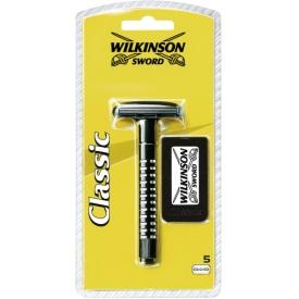 Wilkinson Sword Rasierapparat Classic Präzisions    5 Ersatzklingen