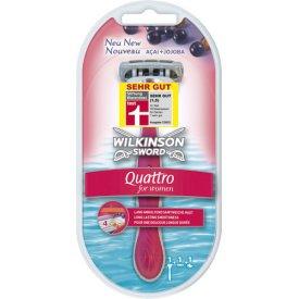 Wilkinson Sword Rasierapparat Quattro for Women   1 Klinge