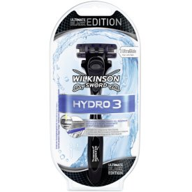 Hydro3 Ultimate black Edition Rasiergriff 1Klinge
