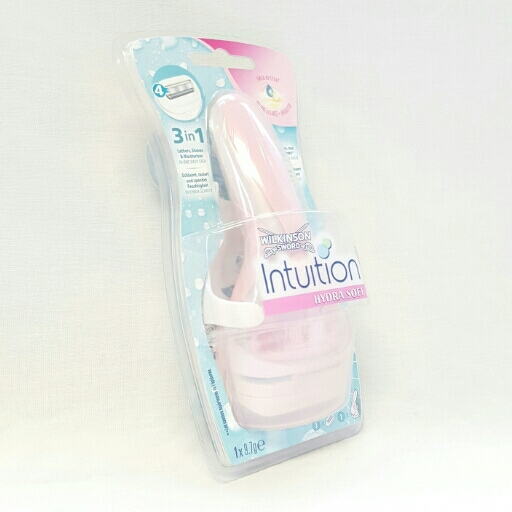 Wilkinson Sword Rasierer Intuition Hydra Soft mit Shearbutter