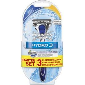 Wilkinson Sword Hydro3 for Men  Rasierer + 3 Klingen