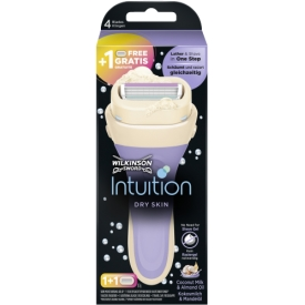 Wilkinson Sword Intuition Dry Skin Starterset