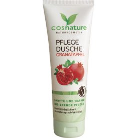 Cosnature Duschcreme Pflege Dusche Granatapfel