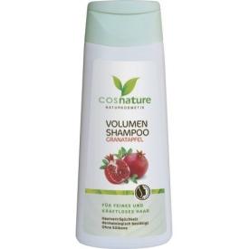 Cosnature Shampoo Volumen Granatapfel für feines und kraftloses Haar ohne Silikone