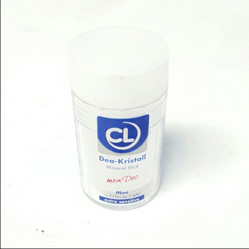 Cl Deo Roll-On Deo-Kristall Mineral Stick Mini Extra Sensitiv