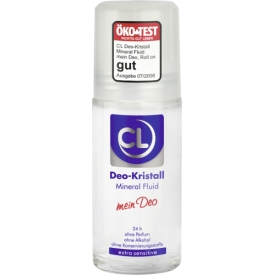 Cl Deo Roll On Kristal Mineral Fluid Extra Sensitive