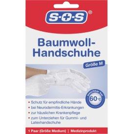 SOS Baumwollhandschuhe 1 Paar