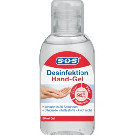 SOS Hand Desinfektions Hand-Gel