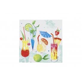 Paper + Design Cocktail-Serviette 25x25cm Drinks 20er Pack