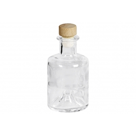 Dosen-zentrale Spirituosenflasche Apotheker 200 ml mit Holzgriffkorken