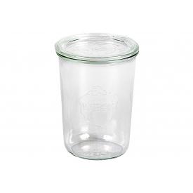 Weck Rundrandglas Sturz 0,75 l mit Deckel