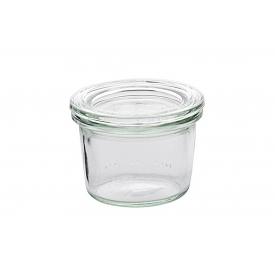Weck Rundrandglas Mini-Sturz 80 ml mit Deckel 60mm
