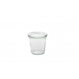 Weck Rundrandglas Sturz 290 ml mit Deckel 80mm