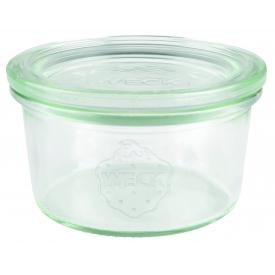Weck Rundrandglas Mini-Sturz 165 ml mit Deckel 80mm