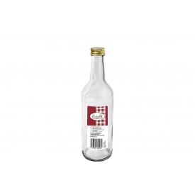 Dosen-zentrale Gradhalsflasche Einkochwelt 500 ml mit 28mm PP-Verschluss