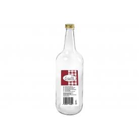 Dosen-zentrale Gradhalsflasche Einkochwelt 700 ml mit 28mm PP-Verschluss
