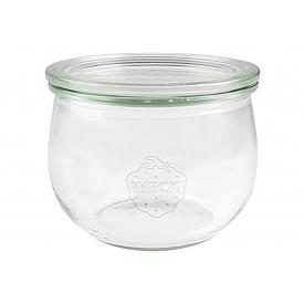 Weck Rundrandglas Tulpe 500 ml mit Deckel 100mm