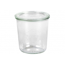Weck Rundrandglas Sturz 500 ml mit Deckel 100mm