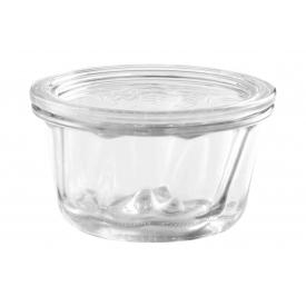 Weck Rundrandglas Gugelhupf 280ml Einkochwelt mit 100 mm Rundranddeckel