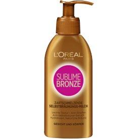 L`Oreal Sublime Bronze Zartschmelzende Selbstbräunungs-Milch