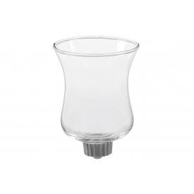 Kerzenhalteraufsatz Glas für Teelichte 8cm Ø5,5cm klar