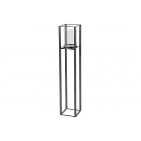 Windlicht Metall/Glas Tower 20x20x105cm