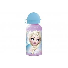 P:os Trinkflasche Frozen/Eiskönigin Aluminium mit Drehverschluß 400 ml