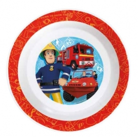 P:os Suppenteller Feuerwehrmann Sam Ø19cm