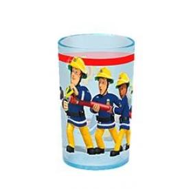P:os Trinkglas Feuerwehrmann Sam 200 ml Ø6,5cm