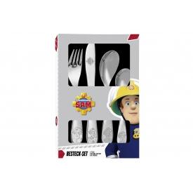 P:os Besteck Feuerwehrmann Sam 4tlg