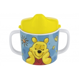 P:os Trinklernbecher Winnie the Pooh Melamin 200 ml 11,5cm Ø7,5cm