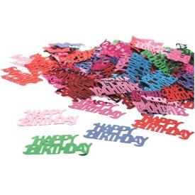STYLEX Konfetti Happy Birthday Metallic 14g