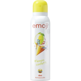 emoji Deospray Lemon Confetti
