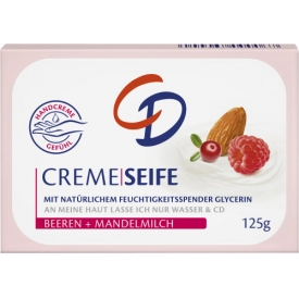 CD Cremeseife Beeren & Mandelmilch