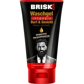 Brisk Bart Waschgel Tube Intensiv