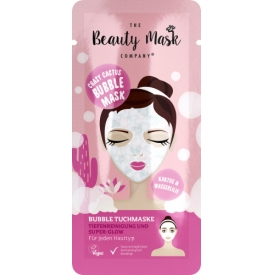 The Beauty Mask Company Crazy Cactus Bubble Tuchmaske