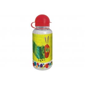 Geda Trinkflasche Raupe Nimmersatt Tritan 350ml grün