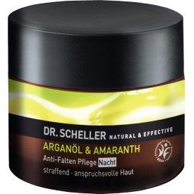 Dr.Scheller Nachtcreme Anti-Falten Arganöl & Amaranth