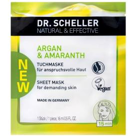 Dr.Scheller Argan & Amaranth Vliesmaske