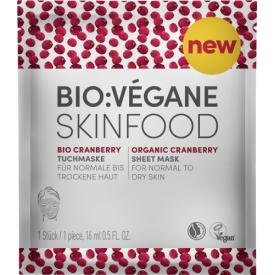 Bio Vegane Skinfood&nbsp Tuchmaske